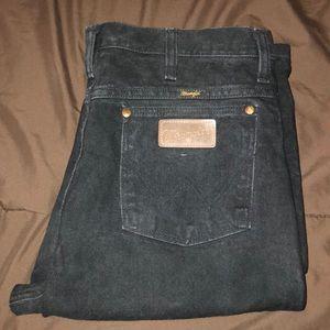 Black wrangler jeans 32X36